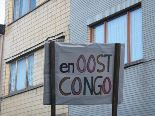 Betoging in Gent op 17 jan 2008 Solidariteit met Gaza en Oost Congo tav Mia Doornaart